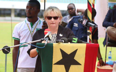 REMARKS BY HIGH COMMISSIONER OF CANADA TO GHANA AT THE OPENING CEREMONY OF THE 8TH PRE-HARVEST EVENT TAMALE, OCTOBER 3, 2018