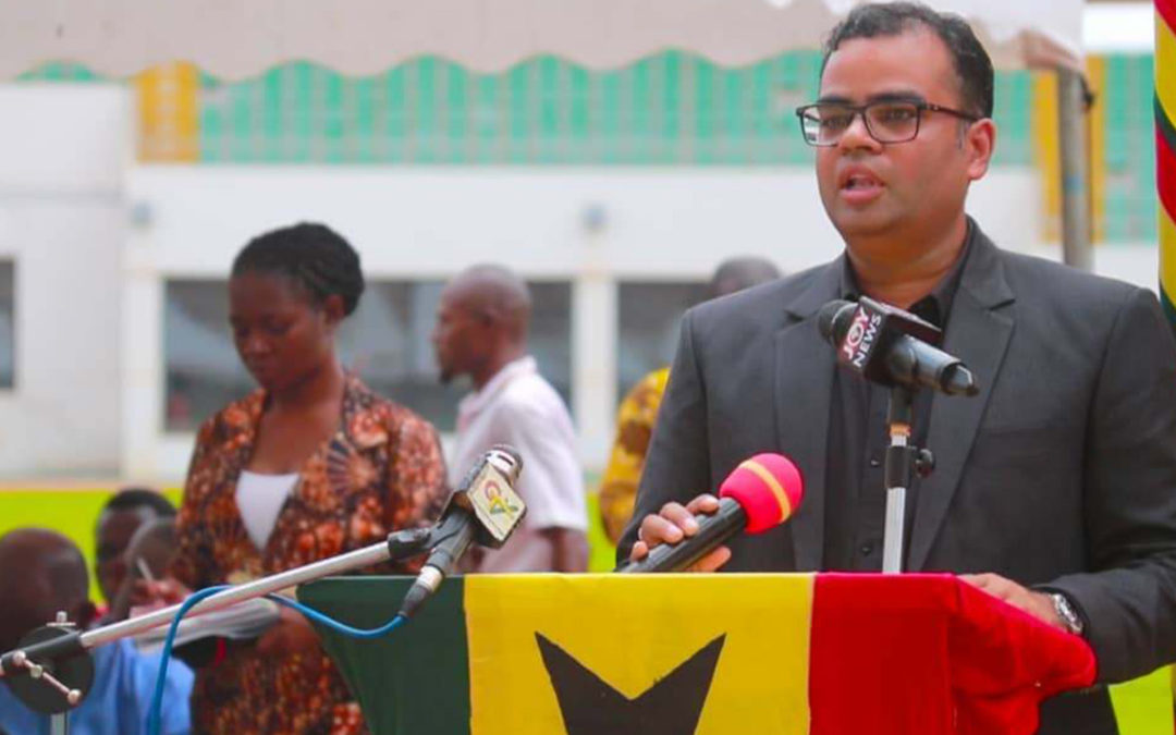SPEECH BY AASHISH RASTOGI, TATA/JOHN DEERE ON THE OCCASION OF THE OPENING OF THE 8TH PRE-HARVEST AGRIBUSINESS EXHIBITION AND CONFERENCE HELD AT THE ALIU MAHAMA SPORTS STADIUM, TAMALE ON OCTOBER 3, 2018.