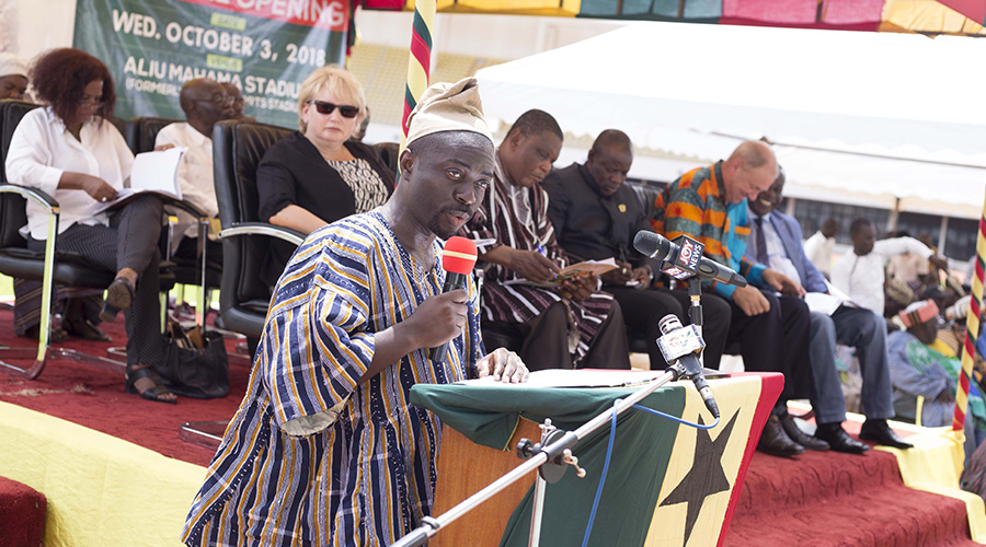 SPEECH BY DANQUAH ADDO-YOBO, MANAGING DIRECTOR, YARA GHANA LIMITED AT THE OPENING OF THE 8TH PRE-HARVEST AGRIBUSINESS EXHIBITION AND CONFERENCE HELD AT THE ALIU MAHAMA SPORTS STADIUM, TAMALE ON OCTOBER 3, 2018.