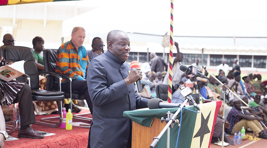 WELCOME ADDRESS BY THE NORTHERN REGIONAL MINISTER, HON. SALIFU SA-EED ON THE OCCASION OF THE 8TH PRE-HARVEST AGRIBUSINESS EXHIBITIONS AND CONFERENCE EVENT AT THE ALIU MAHAMA SPORTS STADIUM ON WEDNESDAY