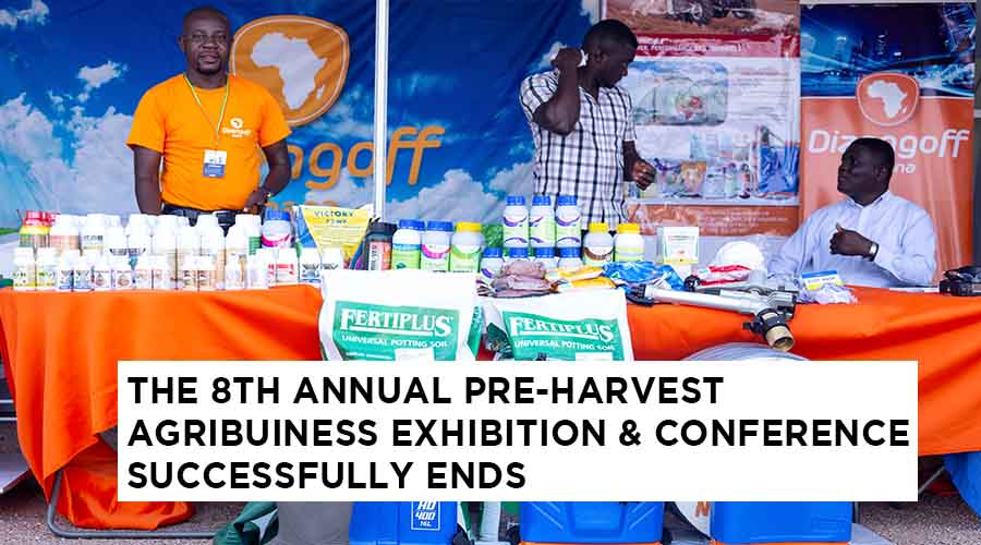 THE 8TH ANNUAL PRE-HARVEST AGRIBUINESS EXHIBITION & CONFERENCE SUCCESSFULLY ENDS