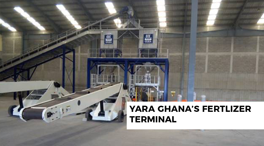 YARA GHANA'S FERTLIZER TERMINAL – SUPPORTING THE DRIVE OF THE GOVERNMENT OF GHANA FOR INDUSTRIALIZATION