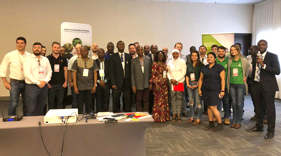AGRISHOW 2019: MOFA / GIPC TOUTS GHANA'S POTENTIAL TO THE WORLD IN BRAZIL